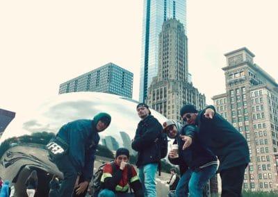 Crew in Chicago